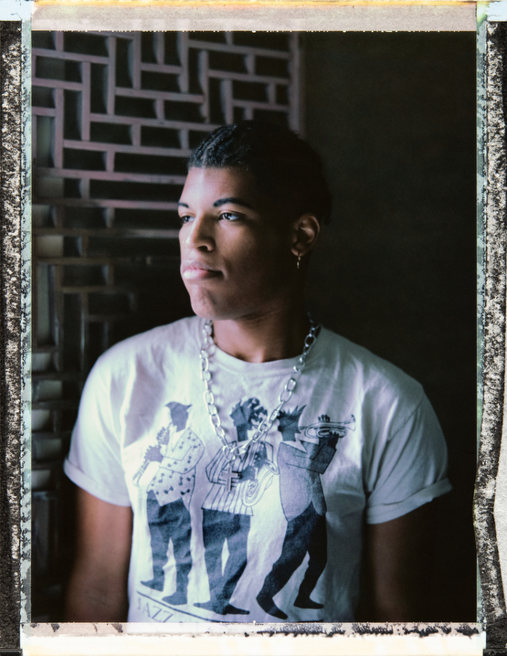 25 year-old, black, bisexual, transsexual female, ZYQ, Xeena A. Ellison at her home in New Orleans. Photography by Robin Hammond, pitures@robinhammond.co.uk. Editor: Mallory Benedict, Mallory.Benedict@natgeo.com, +1 202.791.1282. 15 March 2019