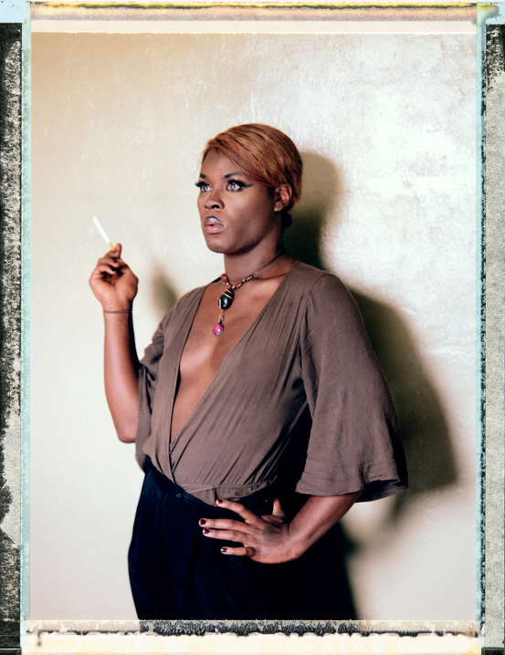 23 year-old, black, bisexual, female of trans experience, Raven Carlyle. Raven is a Tarot Card Reader. Photography by Robin Hammond, pitures@robinhammond.co.uk. Editor: Mallory Benedict, Mallory.Benedict@natgeo.com, +1 202.791.1282. 17 March 2019