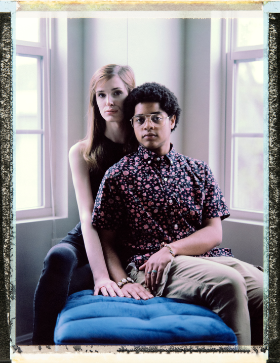 21 year-old, African American, pansexual, trans man Elliot ÔNikoÕ LÕeaux with his 21 year-old girlfriend white, pansexual, trans woman, Peyton Michelle in New Orleans. Elliot is a columnist, activist, poet and Òvisionary.Ó Peyton is the Board Secretary of Louisiana Trans Advocates. Photography by Robin Hammond, pitures@robinhammond.co.uk. Editor: Mallory Benedict, Mallory.Benedict@natgeo.com, +1 202.791.1282. 15 March 2019